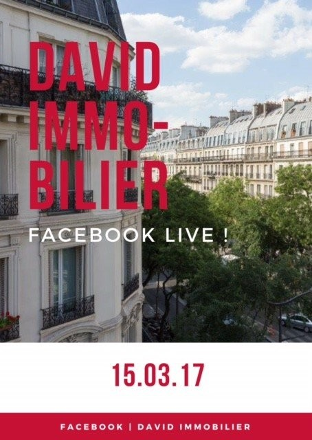 """David Immobilier innove..."""
